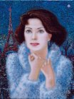 France Cinema Star. A Portrait Of Anna Pahomova. 2005-2006 31.5x24.5 can/oil
