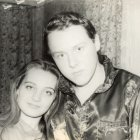 Alexey with Kiparisova Sonya. 1995
